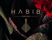 HABIB PERFUME ID Brand Identity, Perfume, Stationery, Packaging, Beauty, Elegant, Colors, Simple, Pattern