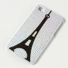 Bling Eiffel Tower iPhone Cover   Claire's