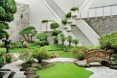 mini jardin japonais oriental