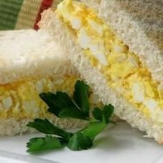 This is a wonderful-tasting egg salad sandwich that you will definitely devour. It's really good on rye. 35 m                 4 servings ...