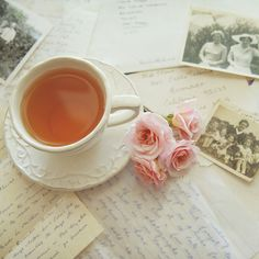 Words and tea.