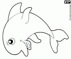 Delphine, Snoopy, Crafts, Fictional Characters, Craft Ideas, Art, Dolphin Drawing, Animal Templates, Dolphins