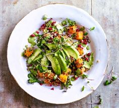 California quinoa & avocado salad