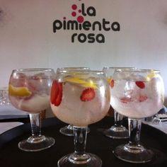 #Restaurante La Pimienta Rosa, arroces de 10 en #Benicàssim #gintonic