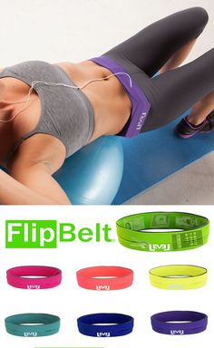 FlipBelt // Holds phones, cards, keys, and more! This is genius - most workout clothes don't have pockets, so it's perfect for running, gym, yoga, etc. #product_design