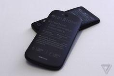 YotaPhone prototype