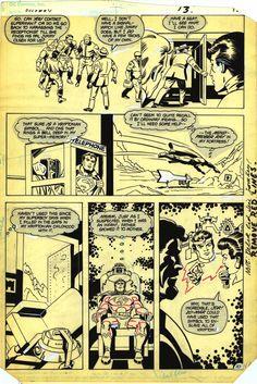 DC Comics Presents #84 / 10; Author: Jack Kirby | Greg Theakston; Publisher: DC Comics 1983