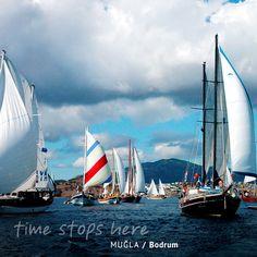 Muğla'da yelken yapanlar özgürlüğün rüzgarına kapılır. / Let yourself be caught by the wind of freedom while sailing. / Lass dich beim Segeln vom Wind der Freiheit fangen. | http://timestopsmugla.com/tr/bodrum/neler-yapabilirim/yelken-sporu