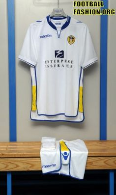 Leeds United Macron 2012/13 Home Kit