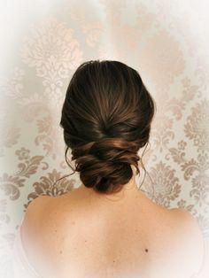 Hairstyling by Christina Gubier Elegant, Fine Art, Hair Styles, Wedding, Fashion, Classy, Hair Plait Styles, Valentines Day Weddings, Moda