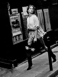 PETER LINDBERGH | KAROLINA KURKOVA | PARIS | HARPER'S BAZAAR US | JANUARY 2003