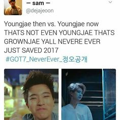 Sorry you can't talk to youngjae rncause he's dead..