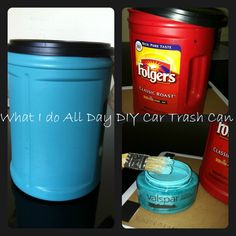 DIY- Car Trash Can