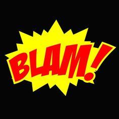 BLAM! Comic Book Panels, Comic Book Covers, Comic Books, Maid Of Honor Speech, Script Text, Comic Book Style, Paint Shop, Vintage Comics, Textile Patterns