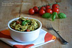 Pasta con Pesto Tonno e Pomodorini