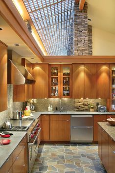Konyhai ötletek az étkező és a konyha kialakításához ...