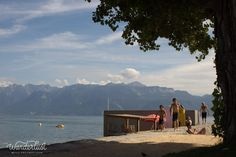 Lutry plage, Lausanne