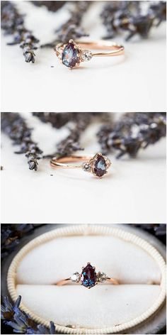 Vintage engagement rings 383509724516827837 - sapphire three stone engagement ring, pear engagement ring, three stone ring, rose gold alexandrite ring, alternative engagement Source by omriezer Alexandrite Ring, Alexandrite Engagement Ring, Three Stone Engagement Rings, Three Stone Rings, Vintage Engagement Rings, Engagement Rings Black Diamond, Solitaire Engagement, Green Sapphire Engagement Ring, Unusual Engagement Rings