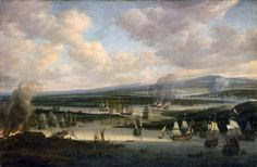 Willem Schellinks | 1667-1678 | Burning of the English Fleet at Chatham, June 1667, during the Second Anglo-Dutch War (1665-1667)