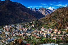 Panorama dal Sacro Monte di Varallo, Valsesia