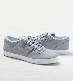 Grey Reebok Workout Low Clean FVS Sneaker//