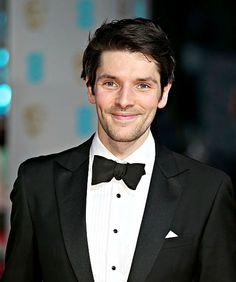 Colin Morgan at the bafta awards 2016