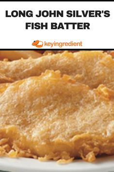 Long John Silver's Fish Batter Recipe – Shellfish Recipes Fish Dishes, Seafood Dishes, Seafood Recipes, Cooking Recipes, Cooking Fish, Cajun Dishes, Shellfish Recipes, Entree Recipes, Cat Recipes