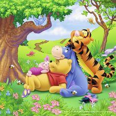 Disney 4 Nail Art dragon ball z nail art Winne The Pooh, Cute Winnie The Pooh, Winnie The Pooh Quotes, Winnie The Pooh Friends, Eeyore Pictures, Cute Pictures, Wallpaper Iphone Disney, Cute Disney Wallpaper, Lilo Et Stitch