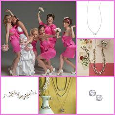 Bridesmaids! #wedding http://www.chloeandisabel.com/boutique/byamygrey