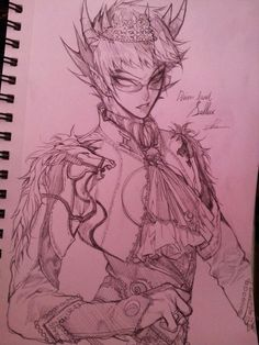 Derse Dreamer Sollux Captor This is probably the most beautiful design for Sollux I`ve ever seen!