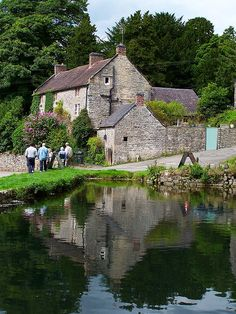 Tissington Village - Derbyshire, England - A great place to stop for a cup of tea. England And Scotland, England Uk, Oxford England, Cornwall England, Yorkshire England, Yorkshire Dales, London England, North Yorkshire, Peak District