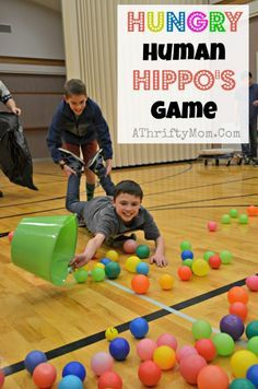 Hungry Human Hippo Game, perfect for family reunions, youth groups or lds mutual, group games, party game ideas games Hungry Human Hippos Game ~ Perfect for youth groups or family reunions Family Reunion Games, Family Games, Family Reunions, Group Games For Kids, Party Games For Groups, Fish Games For Kids, Games For Children, Camping Games For Adults, Family Gatherings