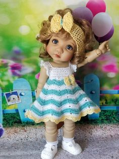 Pretty Dolls, Bjd Dolls, Vintage Dolls, Polymer Clay, Crochet Hats, My Favorite Things, Handmade, Knitting Hats, Hand Made