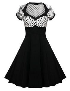 ZEARO Femme Robe Vintage 1950's Audrey Hepburn robe de so... https://www.amazon.fr/dp/B01F75555W/ref=cm_sw_r_pi_dp_x_exywyb1E5RG42