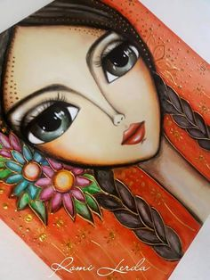 Arts And Crafts, Diy Crafts, Arte Pop, Whimsical Art, Big Eyes, Origami, Art Projects, Illustration Art, Disney Characters