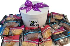 Mixed muffin gift hamper exclusive sydney metro area only gift yummy gluten free cookie box to share around the office negle Gallery