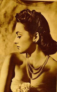Olivia De Havilland actress Hollywood Glamour