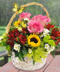 Butterfly Blooms by Marco Island Florist in Marco Island #naples