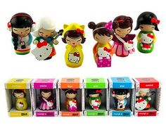 The Makeup Drawer: Momiji Hello Kitty Doll......i want them all