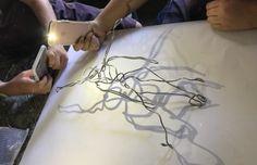 iPad Art Room » Art Apps & Ideas Ipad Photo, Ipad Art, Elements Of Art, Room Art, Student Work, Teaching Tools, Paper Size, Cool Words, Light In The Dark