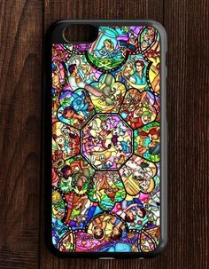 All Characters Disney Stained Glass iPhone 6   6S Case
