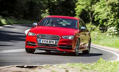 """The Audi S3 sedan has its big brother's good looks. But it's a faster runner."""" 2015 Audi S3 Tested by Car and Driver!"""