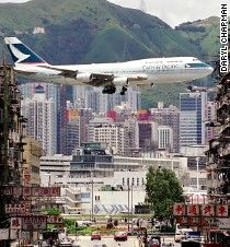 Pilot and photographer remember Kai Tak airport -- from the fondest to the scariest moments