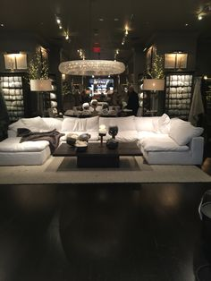 "A piece of heaven Restoration hardware ""cloud"" couch. A piece of heaven House Design, Home Living Room, Room Design, Home, Family Room Design, Restoration Hardware Living Room, Cool House Designs, House Interior, Home And Living"