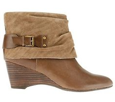 Clarks Artisan Trolley Twirl Leather & Suede Ankle Boots