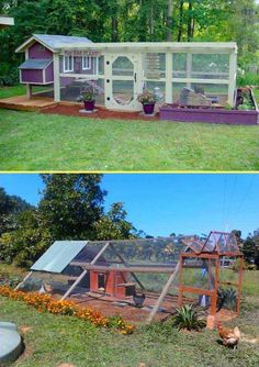 22 Low-Budget DIY Backyard Chicken Coop Plans Keeping chicken in the backyard is really fun, as you will always have fresh eggs and cute pets at home. So if you have a little free space, you could consider building a chicken coop, even though you are only Backyard Chicken Coop Plans, Portable Chicken Coop, Building A Chicken Coop, Chickens Backyard, Chicken Coop Plans Free, Chicken Coop Pallets, Backyard Ideas, Chicken Barn, Best Chicken Coop