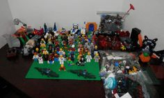 LEGO  Lot  Minifigures + HATS - WEAPONS + MISC #LEGO