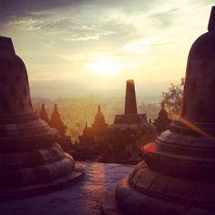 Sunrise, Yogyakarta - Indonesia
