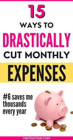 How to cut your monthly expenses and household budget. How to drastically cut expenses and save money on the family budget. How to lower your bills when you're broke. Use these money-saving tips to drastically cut monthly expenses.