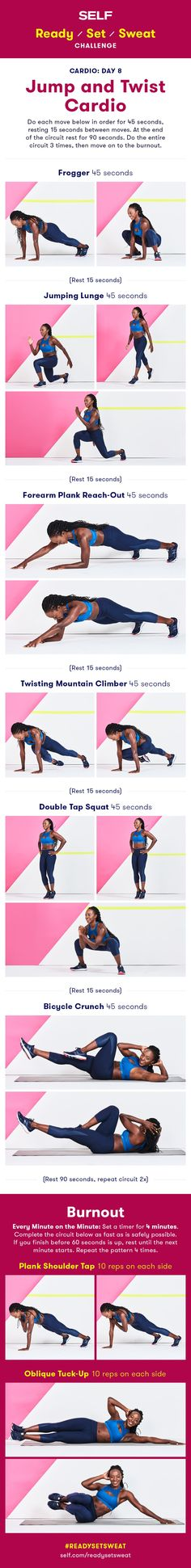 Jump and Twist Cardio Workout | Posted By: NewHowtoLoseBellyFat.com